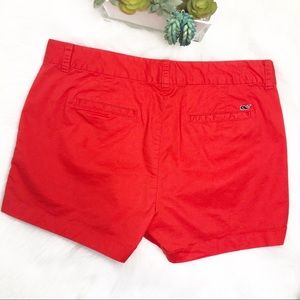 Vineyard Vines coral red shorts size 10